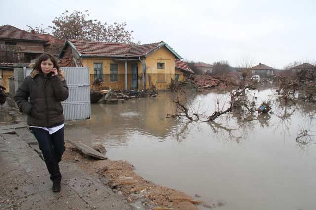 Наводнението в с. Бисер, Харманлийско. Снимка: Impact Press Group