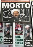 Вестниците в Рио Де Жанейро, Бразилия, след новината за смъртта на Осама.