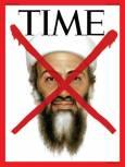 """Корица на сп. """"Тайм"""" от 2 май 2011 г. за смъртта на Осама Бин Ладен."""