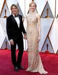 Никол Кидман и съпругът й Кейт Ърбън. Снимка: ЕПА/БТА