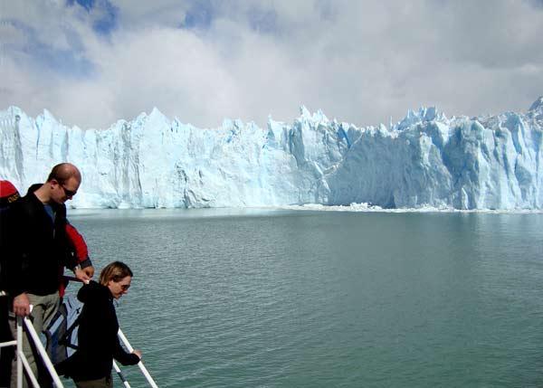 Ледникът Перито Морено. Снимки: авторът