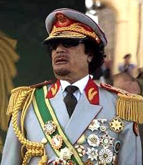 Резултат с изображение за Муамар ал-Кадафи