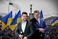 Украйна: подкрепата за Зеленски е най-силна в рускоговорящите региони