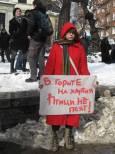 Плакати от протеста в събота, 4 февруари, срещу поправките в Закона за горите. Снимки: e-vestnik