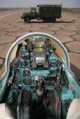 Поглед в кабината на МИГ 23. Снимка: