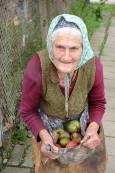С. Черкаски. Баба Гинче, 89-годишна. Снимка: Веселина Димитрова