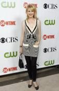 """Актрисата Катрин Морис на партито на """"CBS"""", """"CW"""" и """"Showtime"""" по случай лятното турне на Асоциацията на телевизионните критици в библиотека """"Хънтингтън"""" в Сан Марино, Калифорния. Снимка: Ройтерс"""