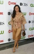 """Актрисата и комедиантка Трейси Улман на партито на """"CBS"""", """"CW"""" и """"Showtime"""" по случай лятното турне на Асоциацията на телевизионните критици в библиотека """"Хънтингтън"""" в Сан Марино, Калифорния. Снимка: Ройтерс"""