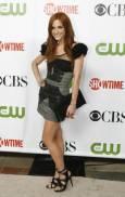 """Актрисата и певица Ашли Симпсън на партито на """"CBS"""", """"CW"""" и """"Showtime"""" по случай лятното турне на Асоциацията на телевизионните критици в библиотека """"Хънтингтън"""" в Сан Марино, Калифорния. Снимка: Ройтерс"""