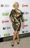 """Актрисата Джена Елфман на партито на """"CBS"""", """"CW"""" и """"Showtime"""" по случай лятното турне на Асоциацията на телевизионните критици в библиотека """"Хънтингтън"""" в Сан Марино, Калифорния. Снимка: Ройтерс"""