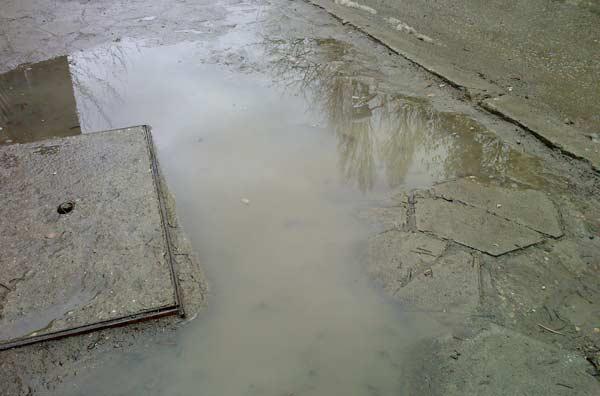 Тротоарите на София - снимки от центъра. Снимки: e-vestnik