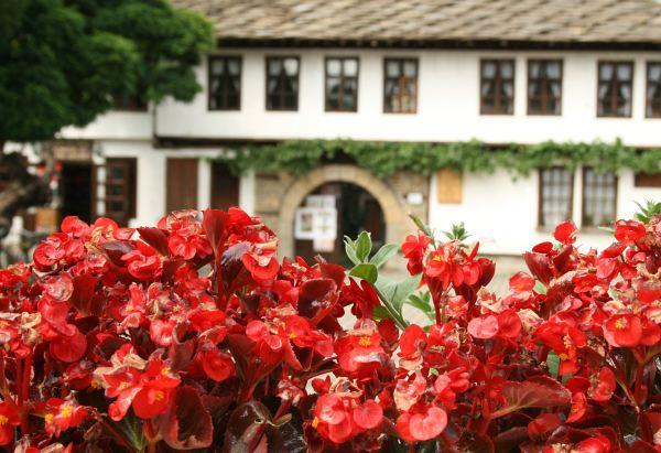 Старинната част на Трявна - на заден план се вижда Школото, което днес е музей. Снимки: авторката