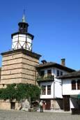 Кулата с часовника е строена през 1814 г. Снимки: авторката