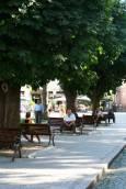 Площадът пред съдебната палата. Снимки: авторката