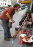 Почитатели на раста-културата свириха на екзотични инструменти и малки барабанчета. Снимки: авторката