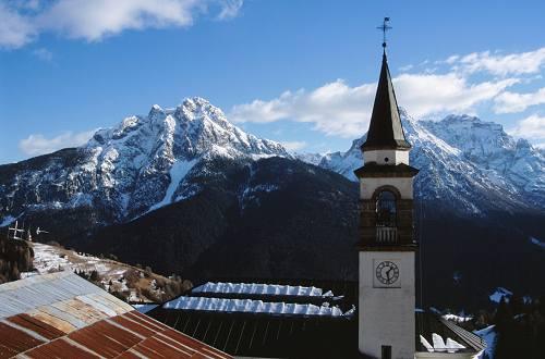 Алпийска революция италианско село