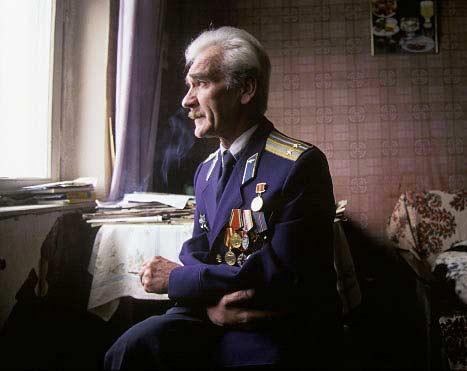 Подполковникът от запаса С. Петров днес. Снимка: Фондация за история на комунизма