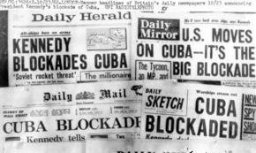 Американски вестници съобщават за блокадата на Куба