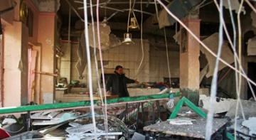 След поредния атентат в Багдад. Снимка: ромфакс