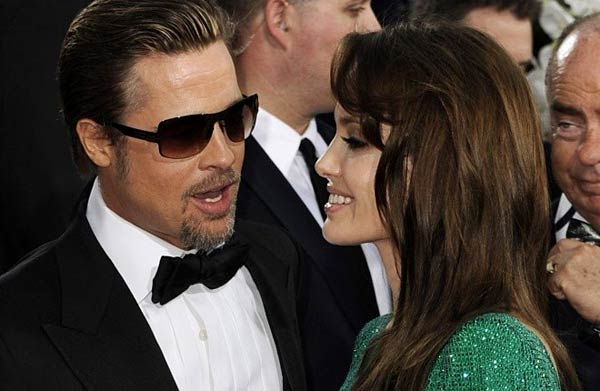 Брат Пит и Анджелина Джоли на церемонията по връчването на наградите